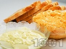 Рецепта Копъров чеснов сос за риба и бяло месо със сметана (без майонеза)